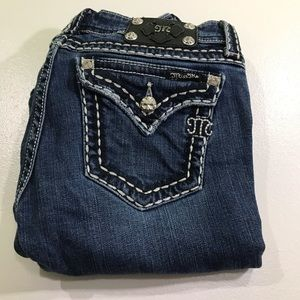 Miss Me Bootcut Jeans size 28 women's